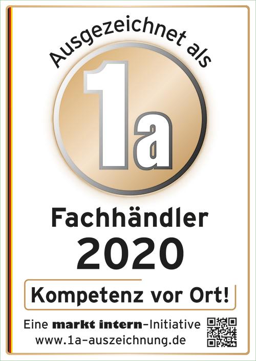 Zertifikat Bohn Küchen 2020