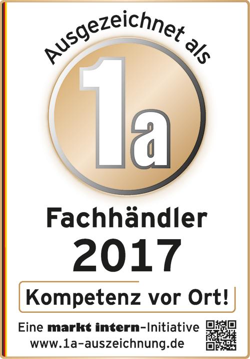 Zertifikat Bohn Küchen 2017