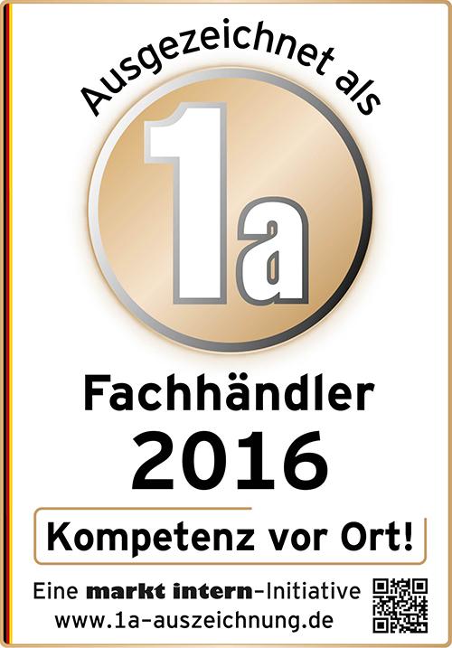 Zertifikat Bohn Küchen 2016