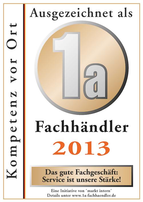 Zertifikat Bohn Küchen 2013