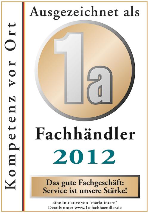 Zertifikat Bohn Küchen 2012